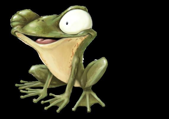 Erdinger Frosch Fridolin
