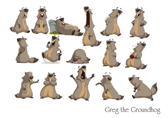 Greg Groundhog/ Max Murmeltier